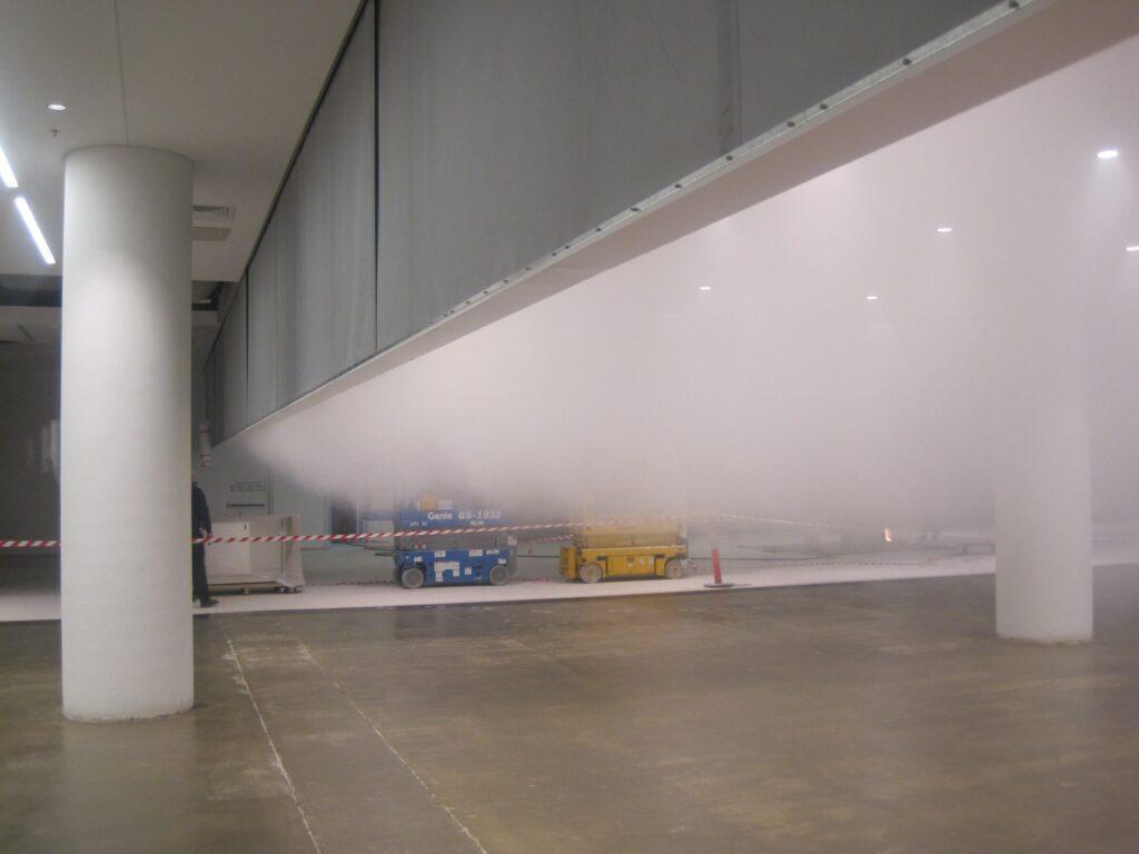 Противопожарные, противодымные шторы на объектах транспортной инфраструктуры